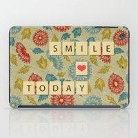 Smile Today iPad Case