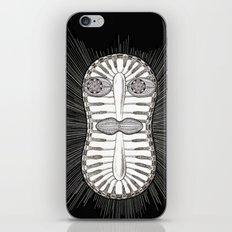 Diatom Face iPhone & iPod Skin