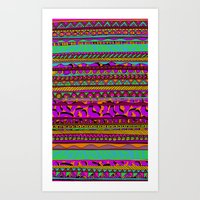 tribal Art Prints featuring Tribal by Aimee St Hill