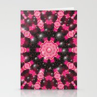 Christmas Mosaic Mandala Stationery Cards