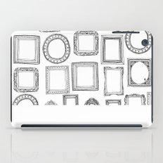 picture frames mono iPad Case