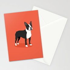 Boston Terrier 2 Stationery Cards