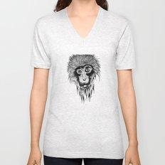 Monkey Unisex V-Neck