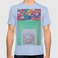 Happy Bubblegum Mens Fitted Tee Athletic Blue SMALL