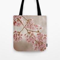 Cherry Float Tote Bag