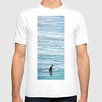 No Hurry Mens Fitted Tee White SMALL