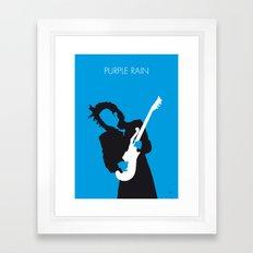 No009 MY PRINCE Minimal Music poster Framed Art Print