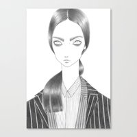 Diplomatic Jackets Canvas Print