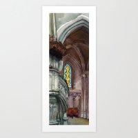 Cathédrale Art Print
