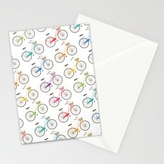 Rainbow Bicycles Stationery Cards