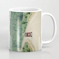 NEVER STOP EXPLORING - vintage volkswagen van Mug