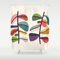 Plant specimens Shower Curtain