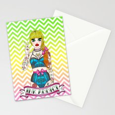 Slave To The Needle Stationery Cards
