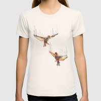 Awake Womens Fitted Tee Natural SMALL