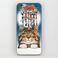Feline Forest iPhone & iPod Skin