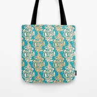 Arabesque Seamless Patte… Tote Bag
