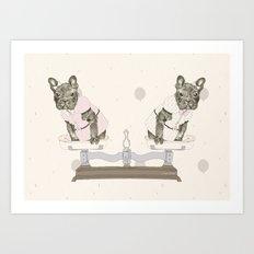 Las Lolas Art Print