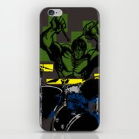 Smash the Drums... iPhone & iPod Skin