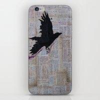 Bob Dylan: Like A Crow iPhone & iPod Skin