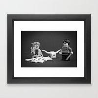 Obliviate! Framed Art Print