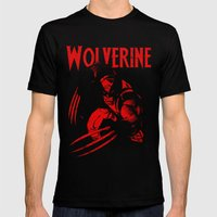 theWOLVERINE Mens Fitted Tee Black SMALL
