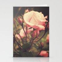 Suzanne  (vintage Flower… Stationery Cards