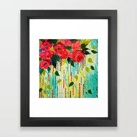 ROSE RAGE Stunning Summe… Framed Art Print