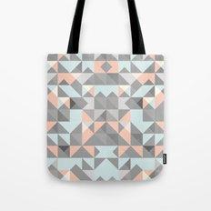 Triangular Pattern Tote Bag