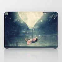 Moon Reverie over Paris iPad Case
