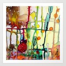 the mama (bright) Art Print
