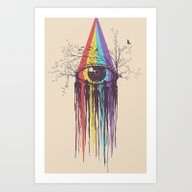 Look Into The Future Art Print