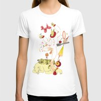 Tools for Playing Womens Fitted Tee White SMALL