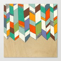 Quiver Full Of Colour Canvas Print