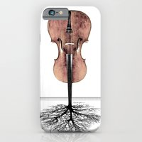 iPhone & iPod Case featuring Rooted Sound II by bananabread