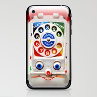 Retro Vintage Smiley Kid… iPhone & iPod Skin
