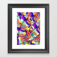 To Swim Framed Art Print