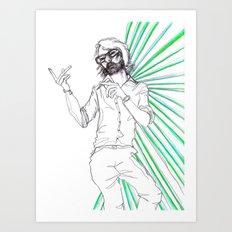Jarvis Art Print
