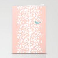Morning Blossom Stationery Cards