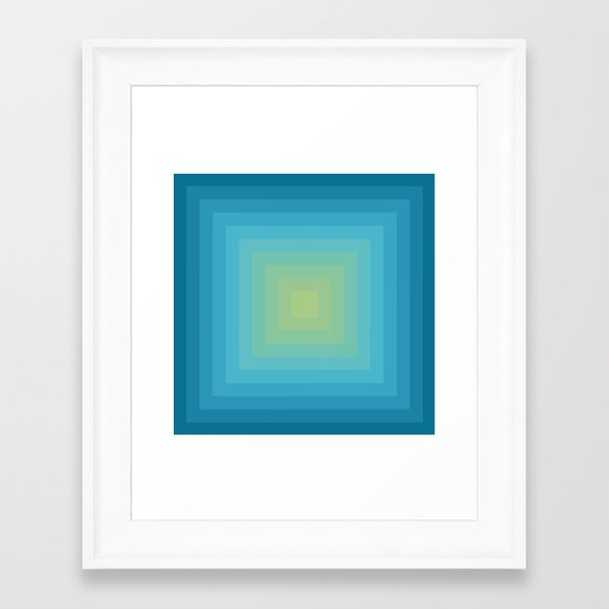 Colour Field v. 5 Framed Art Print