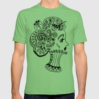 Queen Mens Fitted Tee Grass SMALL