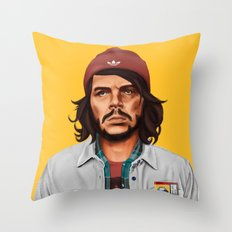 Hipstory - che guevara Throw Pillow