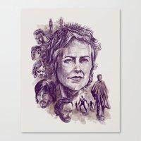 Carol Canvas Print