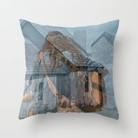 Peace And Love In The Fi… Throw Pillow