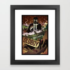 Oldboy [full color] Framed Art Print