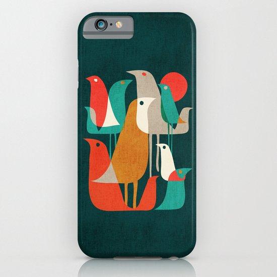 Flock of Birds iPhone & iPod Case