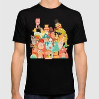 Storybook Gang Mens Fitted Tee Black SMALL