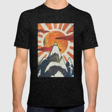 Mount Spitfire Mens Fitted Tee Tri-Black SMALL