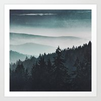 Art Prints featuring Mountain Light by Tordis Kayma