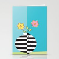 Round Whimsy Vases With … Stationery Cards