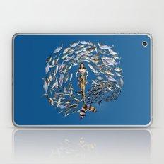 Mermaid in Monaco Laptop & iPad Skin